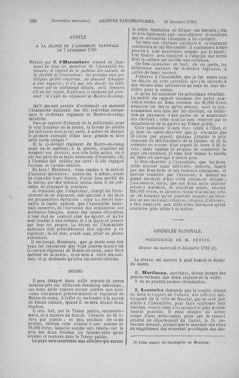 Tome 21 : Du 26 novembre 1790 au 2 janvier 1791 - page 320