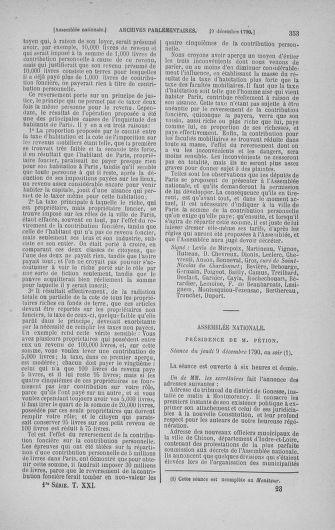 Tome 21 : Du 26 novembre 1790 au 2 janvier 1791 - page 353
