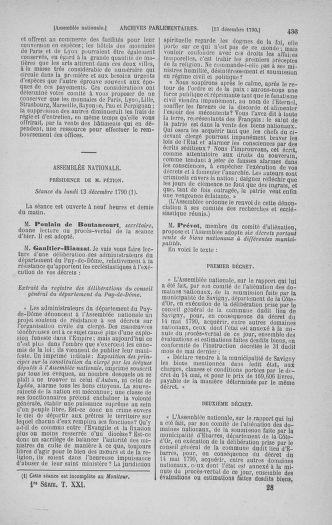 Tome 21 : Du 26 novembre 1790 au 2 janvier 1791 - page 433