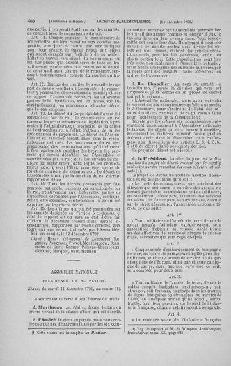 Tome 21 : Du 26 novembre 1790 au 2 janvier 1791 - page 460
