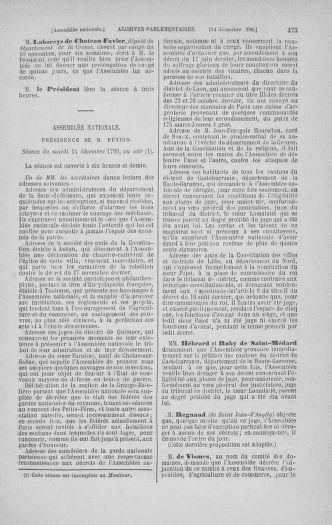 Tome 21 : Du 26 novembre 1790 au 2 janvier 1791 - page 475