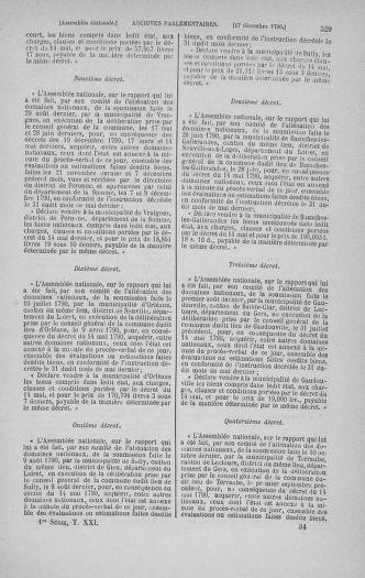 Tome 21 : Du 26 novembre 1790 au 2 janvier 1791 - page 529