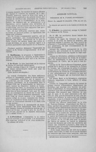 Tome 21 : Du 26 novembre 1790 au 2 janvier 1791 - page 549