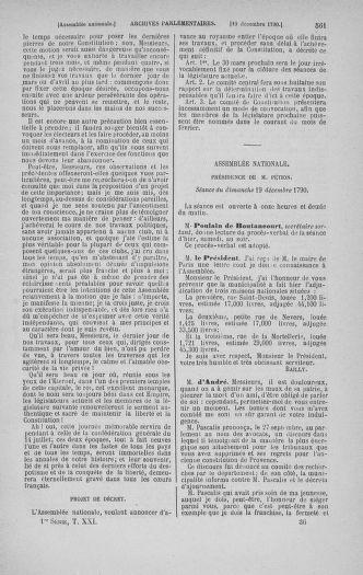 Tome 21 : Du 26 novembre 1790 au 2 janvier 1791 - page 561