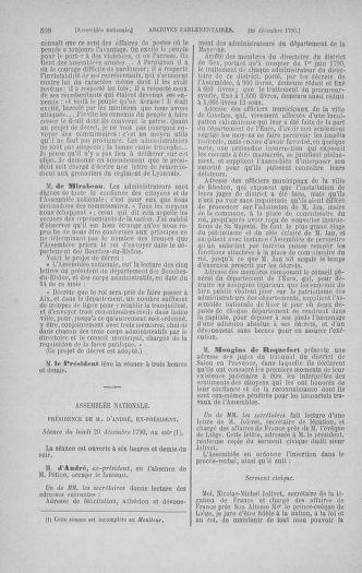Tome 21 : Du 26 novembre 1790 au 2 janvier 1791 - page 598