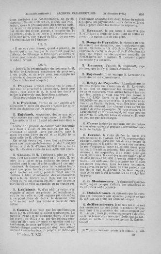 Tome 21 : Du 26 novembre 1790 au 2 janvier 1791 - page 609