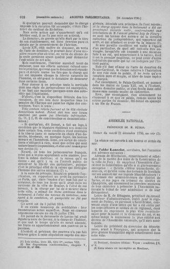 Tome 21 : Du 26 novembre 1790 au 2 janvier 1791 - page 618