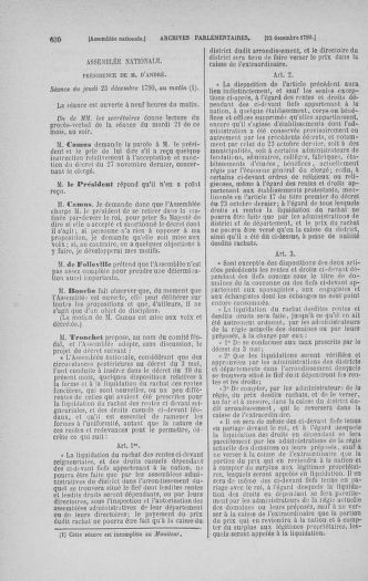 Tome 21 : Du 26 novembre 1790 au 2 janvier 1791 - page 630