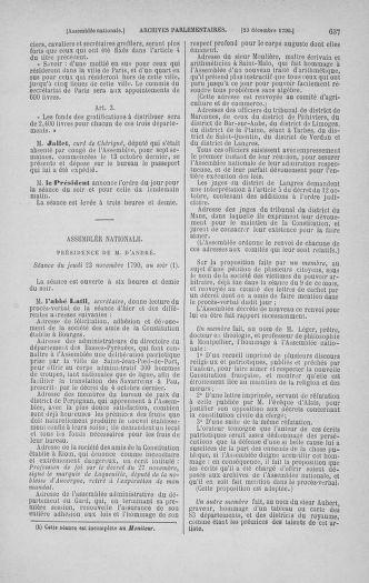 Tome 21 : Du 26 novembre 1790 au 2 janvier 1791 - page 637