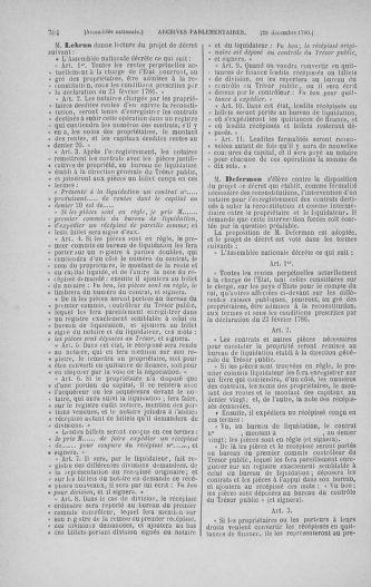 Tome 21 : Du 26 novembre 1790 au 2 janvier 1791 - page 704