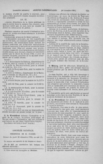 Tome 21 : Du 26 novembre 1790 au 2 janvier 1791 - page 719