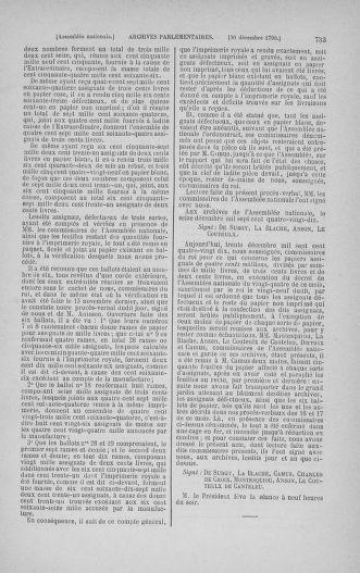 Tome 21 : Du 26 novembre 1790 au 2 janvier 1791 - page 733