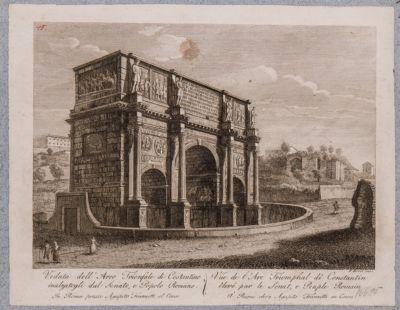 Arco di Costantino, veduta da sud-ovest