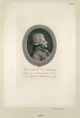 Honoré Gabriel Cte de Mirabeau député de la senéchaussée d'Aix, a l'Assemblée nationale en 1789 : [estampe]