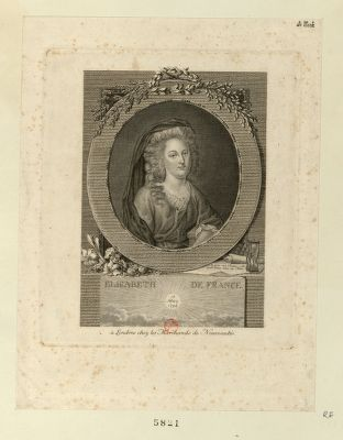 Elisabeth de France 10 May 1794 : [estampe]