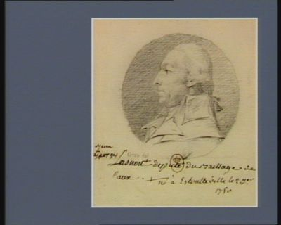 Jean Georges Lasnou né <em>à</em> Estontteville le 2 7.br. 1750 député du baillage de Caux... : [dessin]