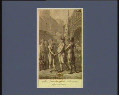 De Launay ergiebt sich zum Gefangenen [estampe]