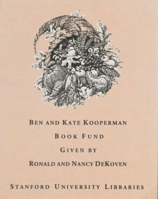 Ben and Kate Kooperman Book Fund