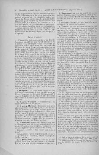 Tome 37 : Du 2 au 28 janvier 1792 - page 4