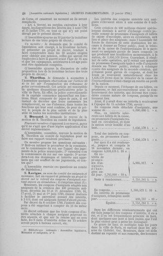 Tome 37 : Du 2 au 28 janvier 1792 - page 28