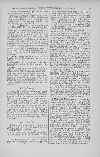 Tome 37 : Du 2 au 28 janvier 1792 - page 95