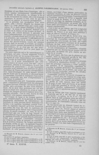 Tome 37 : Du 2 au 28 janvier 1792 - page 225