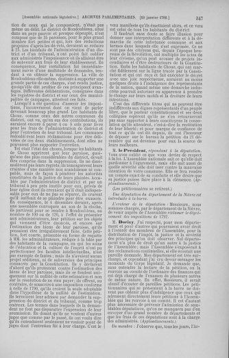 Tome 37 : Du 2 au 28 janvier 1792 - page 347