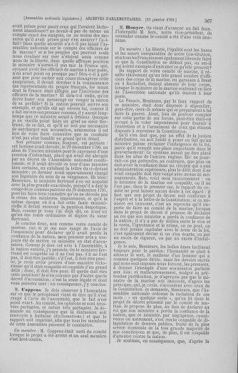 Tome 37 : Du 2 au 28 janvier 1792 - page 367