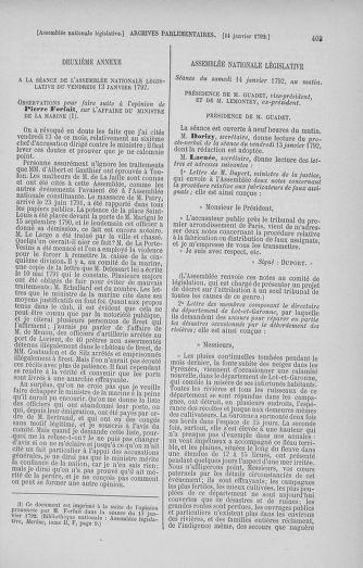 Tome 37 : Du 2 au 28 janvier 1792 - page 403