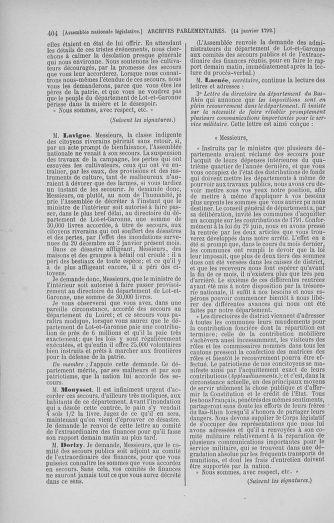 Tome 37 : Du 2 au 28 janvier 1792 - page 404
