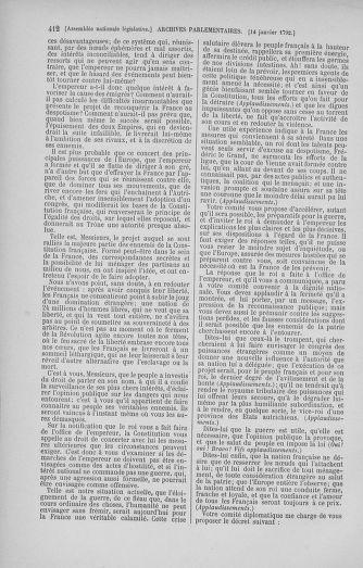 Tome 37 : Du 2 au 28 janvier 1792 - page 412
