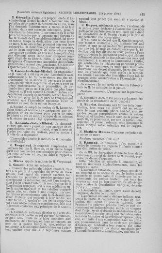 Tome 37 : Du 2 au 28 janvier 1792 - page 415