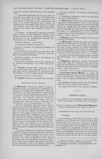 Tome 37 : Du 2 au 28 janvier 1792 - page 416
