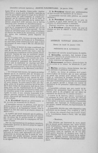 Tome 37 : Du 2 au 28 janvier 1792 - page 437