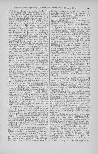 Tome 37 : Du 2 au 28 janvier 1792 - page 485