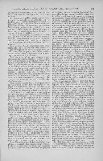 Tome 37 : Du 2 au 28 janvier 1792 - page 487