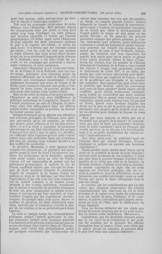 Tome 37 : Du 2 au 28 janvier 1792 - page 489
