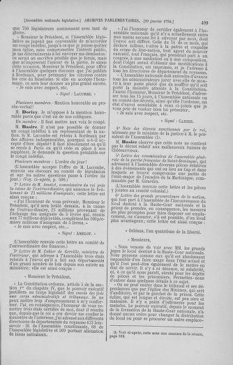 Tome 37 : Du 2 au 28 janvier 1792 - page 499