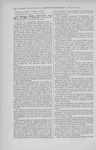 Tome 37 : Du 2 au 28 janvier 1792 - page 514