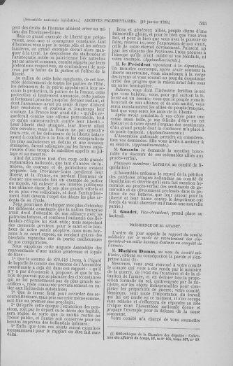 Tome 37 : Du 2 au 28 janvier 1792 - page 515