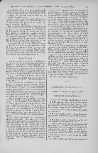 Tome 37 : Du 2 au 28 janvier 1792 - page 527