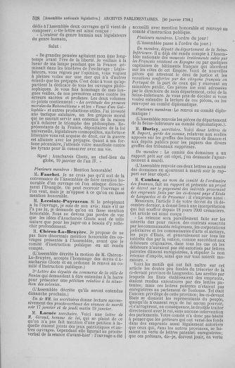 Tome 37 : Du 2 au 28 janvier 1792 - page 528