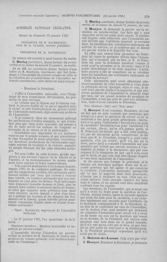 Tome 37 : Du 2 au 28 janvier 1792 - page 579