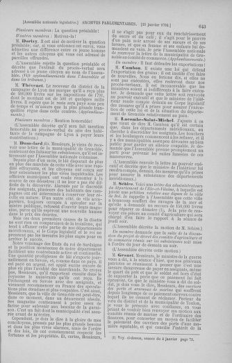 Tome 37 : Du 2 au 28 janvier 1792 - page 643