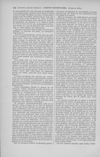 Tome 37 : Du 2 au 28 janvier 1792 - page 648