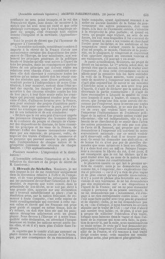 Tome 37 : Du 2 au 28 janvier 1792 - page 651