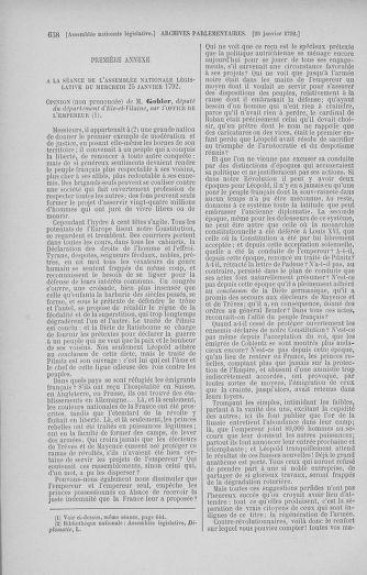 Tome 37 : Du 2 au 28 janvier 1792 - page 658