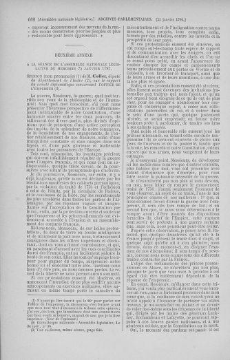 Tome 37 : Du 2 au 28 janvier 1792 - page 662