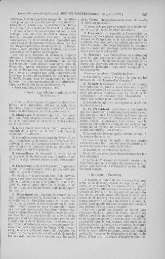 Tome 37 : Du 2 au 28 janvier 1792 - page 665