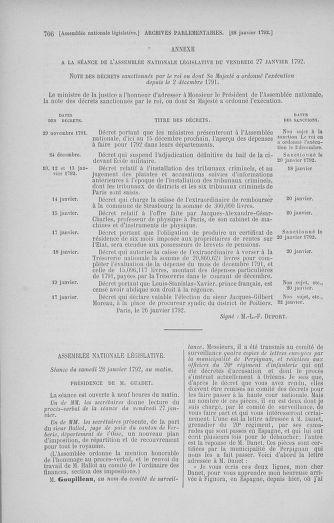 Tome 37 : Du 2 au 28 janvier 1792 - page 706